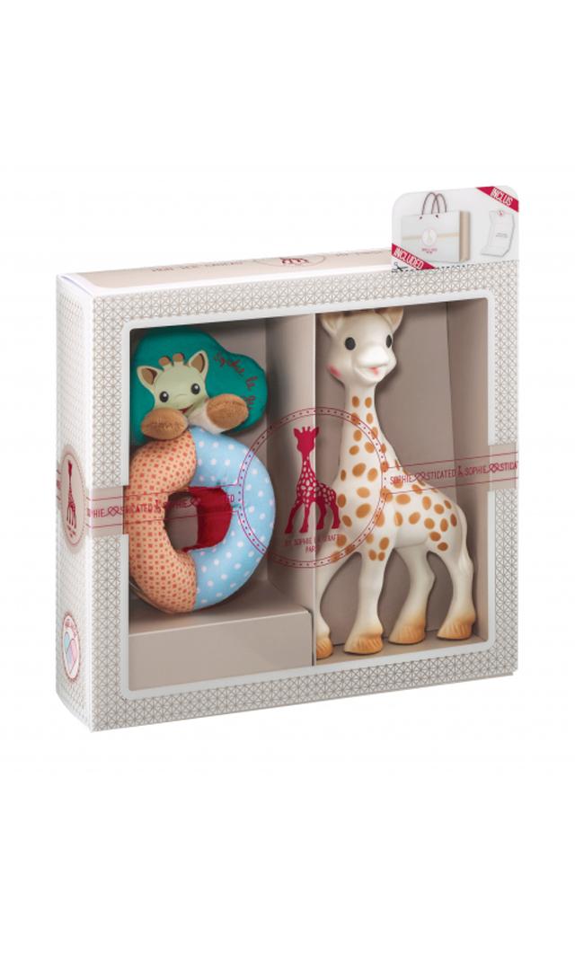 【キリンのソフィー(Sophie la girafe) 】 ソフィスティケード・ビーズラトルセット