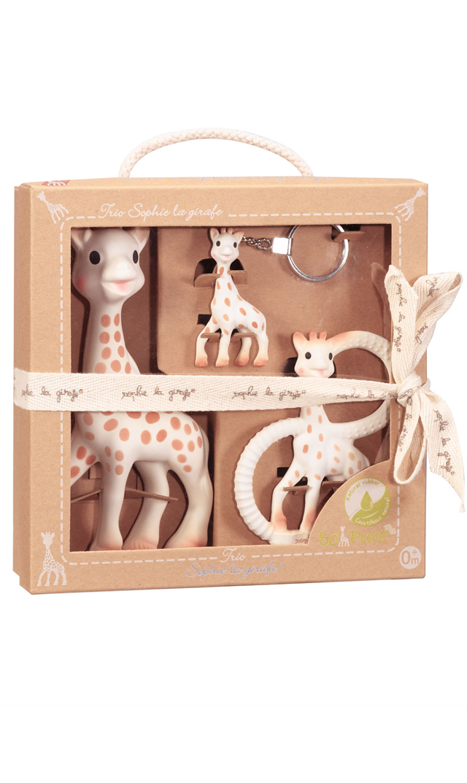 【キリンのソフィー(Sophie la girafe) 】ソーピュア・ママといっしょ3点セット