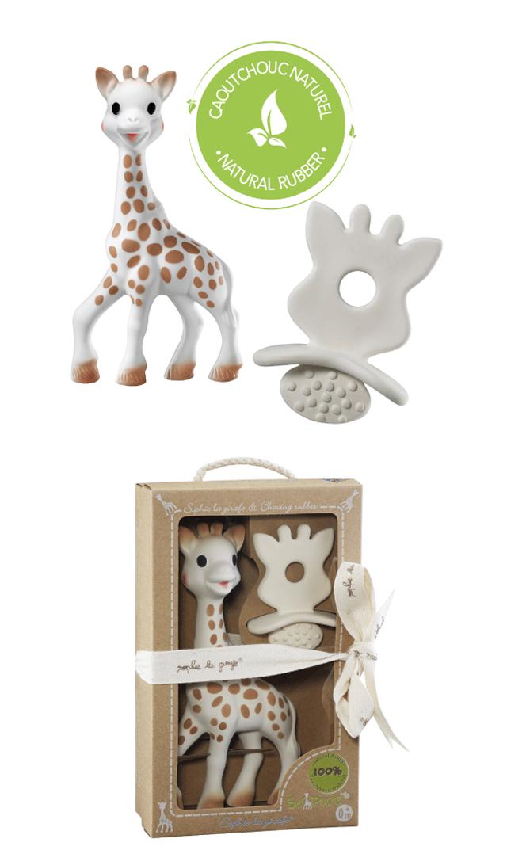 【キリンのソフィー(Sophie la girafe) 】ソフィー + ソフィーおしゃぶり セット