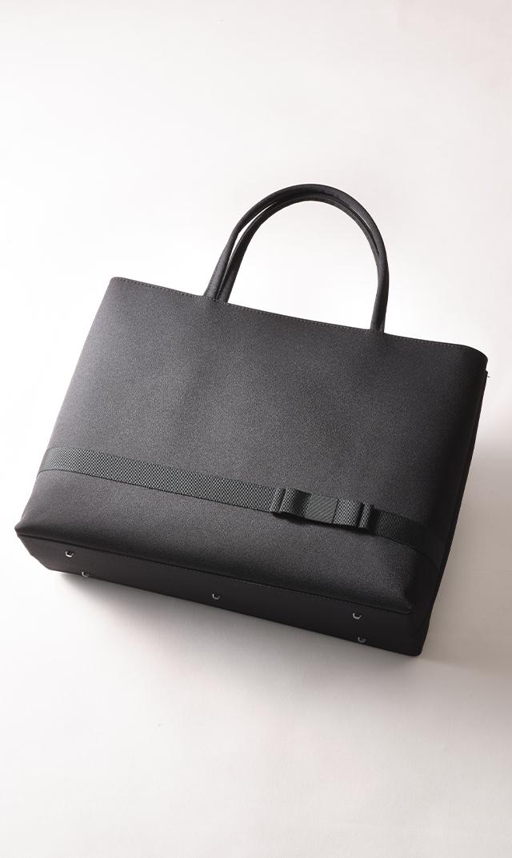【プチソワール】お受験用サブバッグ(ブラック大サイズ)