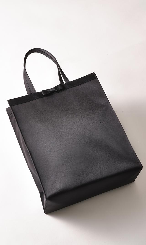 【プチソワール】お受験用サブバッグ(ブラック縦長 )