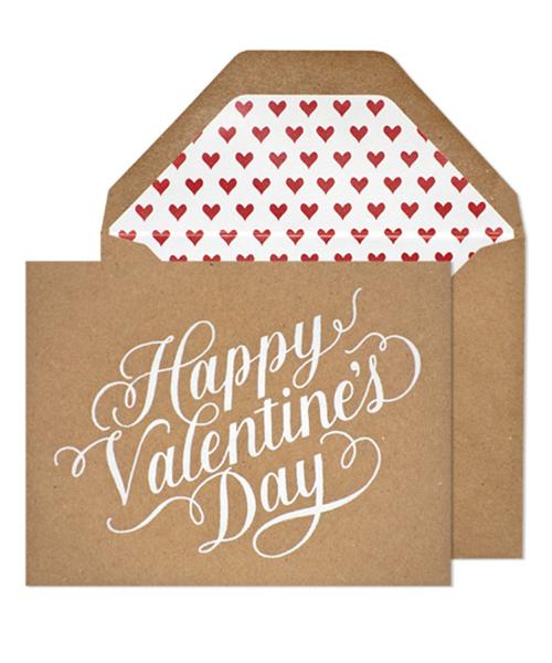 【シュガーペーパー】happy valentine's day kraft