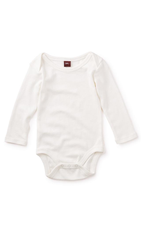 【ティー(TEA)】ベーシックベビーボディスーツ(ミルク)6ヶ月-12ヶ月