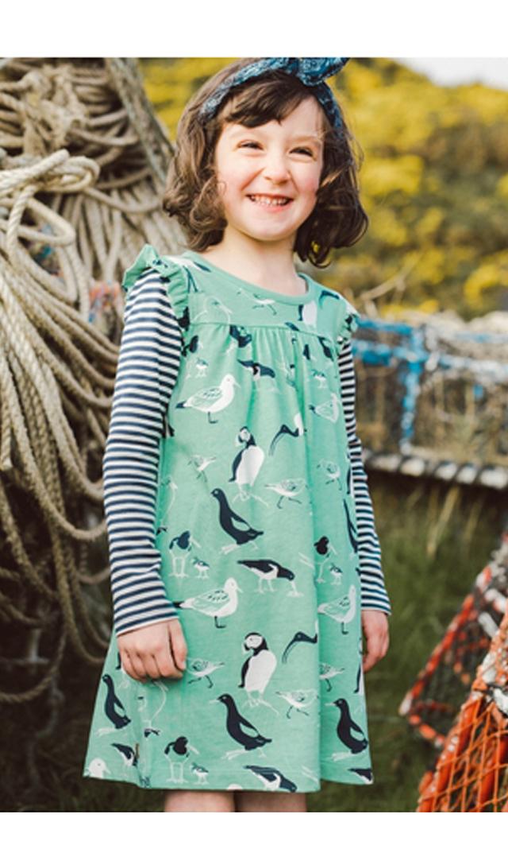 【ティー(TEA)】シーバードレイヤードドレス(レインウォーター)2歳-7歳