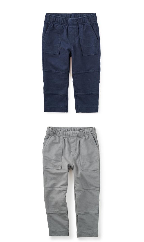 【ティー(TEA)】フレンチテリーパンツ(2色展開)2歳-12歳