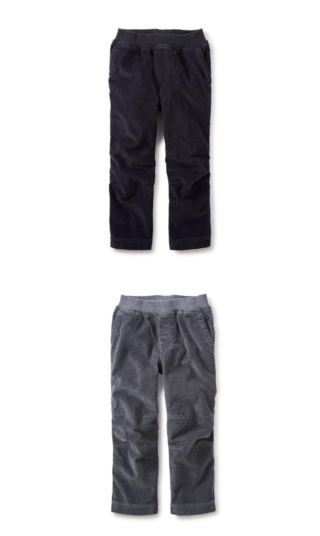 【ティー(TEA)】イージーコーデュロイパンツ(2色展開)/2歳-12歳