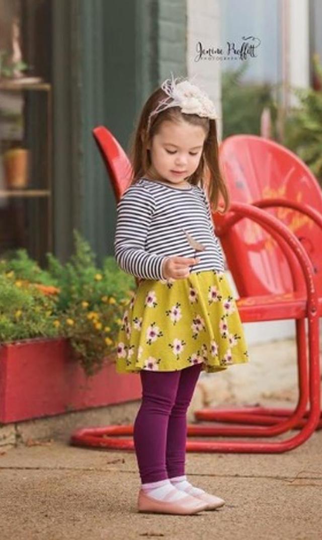 【ティー(TEA)】メイシースカートドレス/3歳-12歳