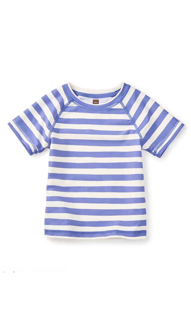 【ティー(TEA)】ビーチラッシュガード(パープルー)/2-6歳