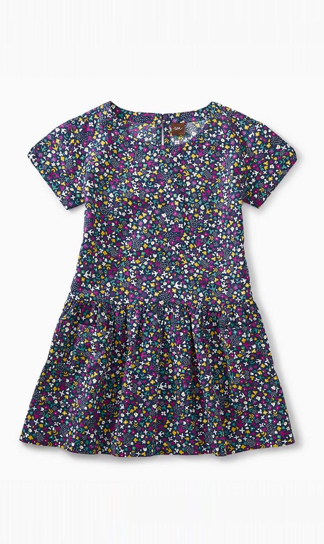 【ティー(TEA)】ウーブンポケットドレス(シティガーデン)/2歳-8歳