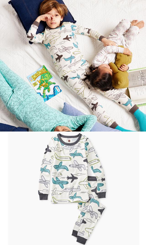 【ティー(TEA)】ジェットパジャマ/2歳-8歳