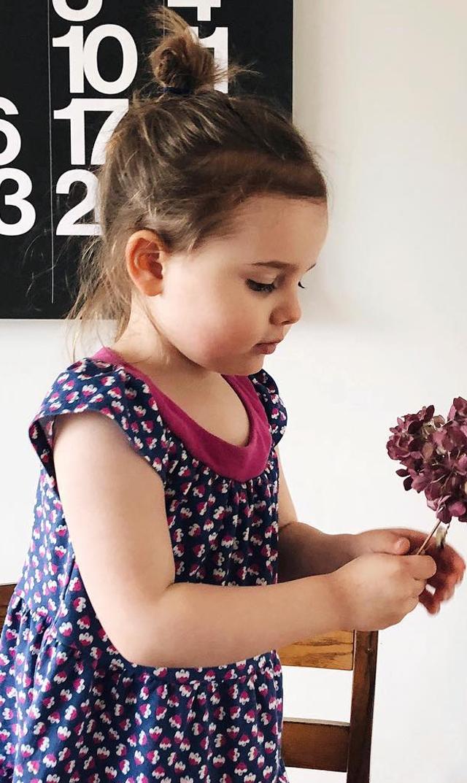 【ティー(TEA)】ティアードドレス(リトルブロッサム)/2歳-6歳