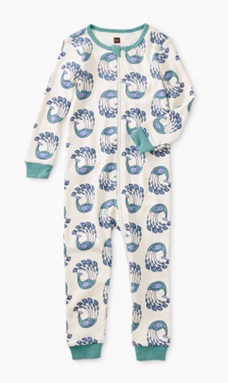 【ティー(TEA)】ベビーパジャマ(ピーコック)/6ヶ月-18ヶ月