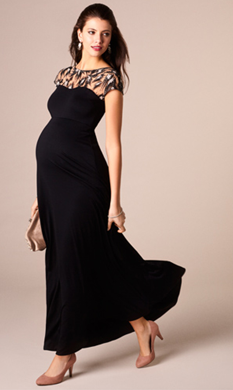 【ティファニーローズ(TiffanyRose)】マリエロングドレス(ブラック)