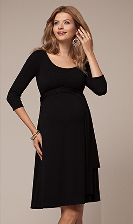 【ティファニーローズ(TiffanyRose)】ナオミナーシングドレス(ブラック)