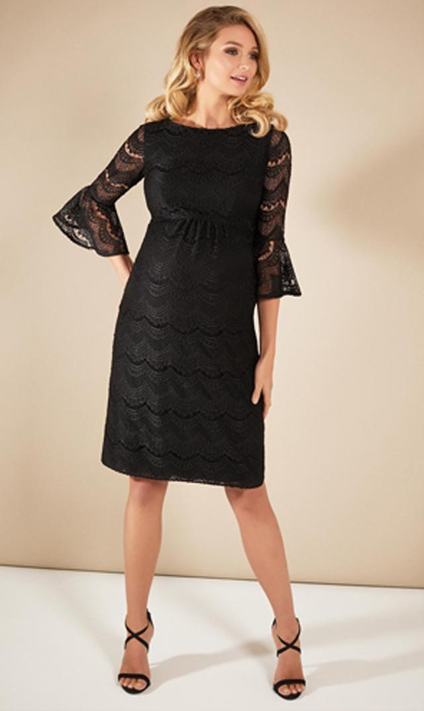 【ティファニーローズ(TiffanyRose)】ジェーンレースドレス(ブラック)