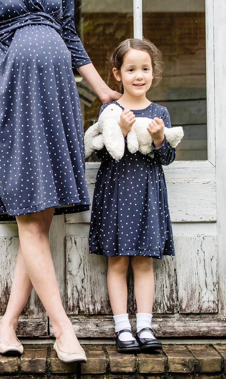 【ヴィリーナ(VIRINA)】アイリスキッズドレス(ナイトドット)90-120cm