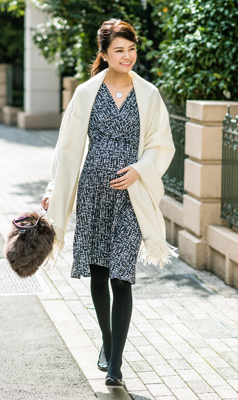 【ヴィリーナ(VIRINA)】ジャスミンナーシングドレス(オプティカル)
