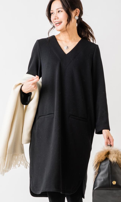 【ヴィリーナ(VIRINA)】ウォームイネスナーシングドレス(ブラック)