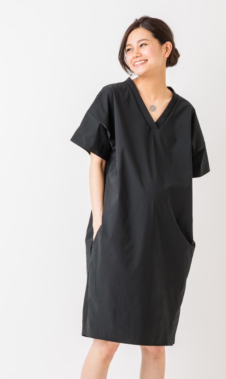 【ヴィリーナ(VIRINA)】ゾーイナーシングドレス(ブラック)