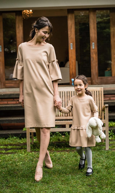 【ヴィリーナ(VIRINA)】レイチェルナーシングドレス(ベージュ)/※子供服あり