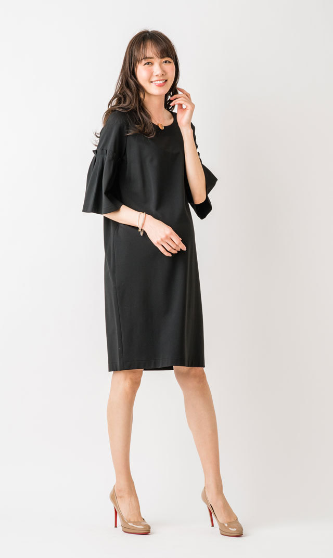 【ヴィリーナ(VIRINA)】レイチェルナーシングドレス(ブラック)
