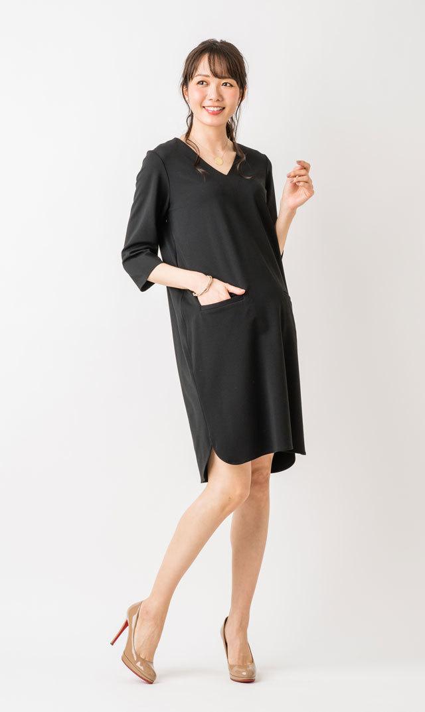 【ヴィリーナ(VIRINA)】イネスナーシングドレス(ブラック)