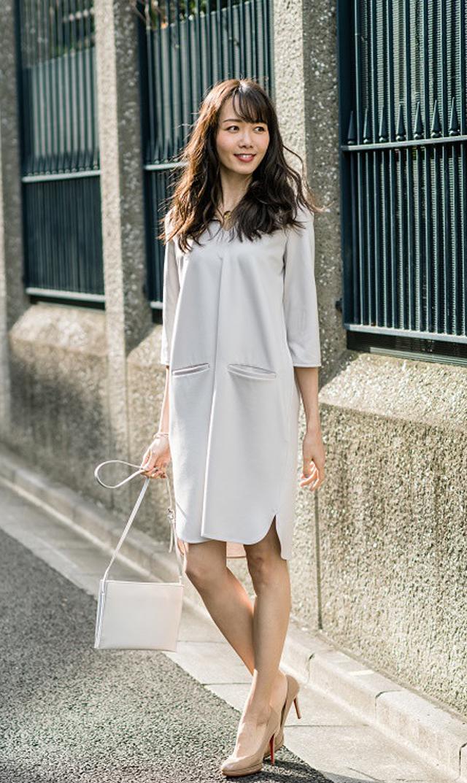 【ヴィリーナ(VIRINA)】イネスナーシングドレス(アイスグレー)