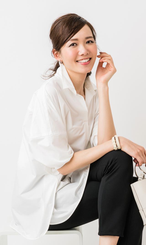【ヴィリーナ(VIRINA)】ステラシャツ(ホワイト)[VERY WEB掲載]