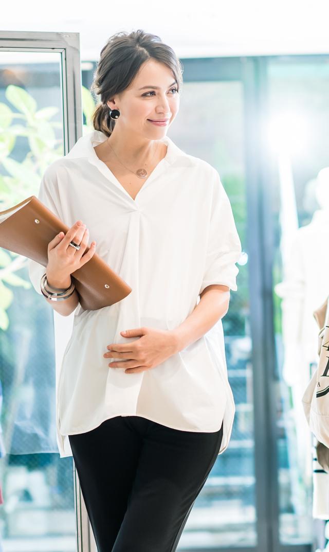 【ヴィリーナ】ステラシャツ(ホワイト)[VERY WEB掲載]※4月中旬再入荷予定