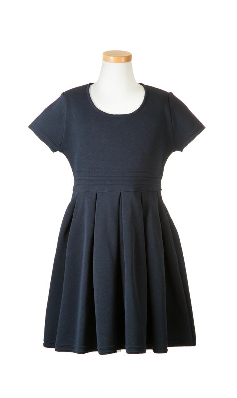 【ヴィリーナ(VIRINA)】エミリーキッズドレス(ネイビー)/90-120cm