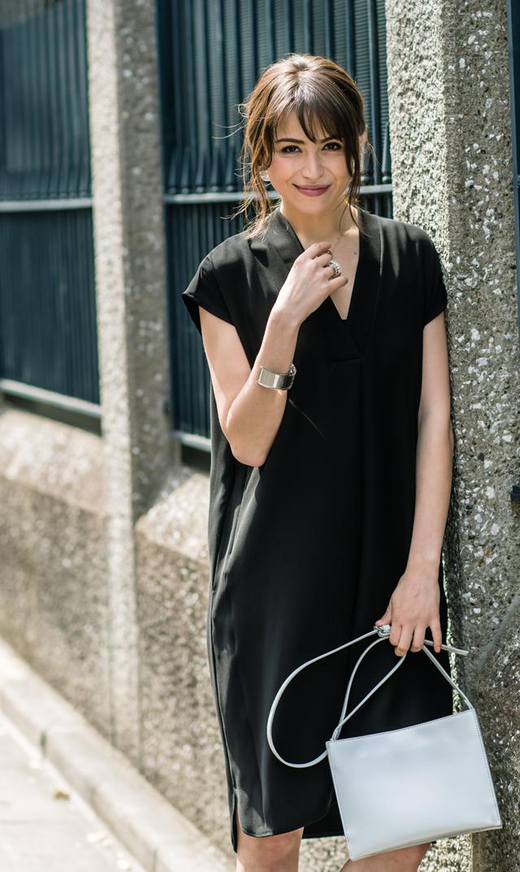 【ヴィリーナ(VIRINA)】ソニアナーシングドレス(ブラック)
