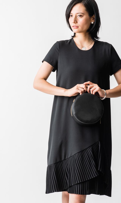 【ヴィリーナ(VIRINA)】ミリーナーシングドレス(ブラック)