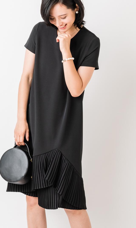 【ヴィリーナ】ミリーナーシングドレス(ブラック)