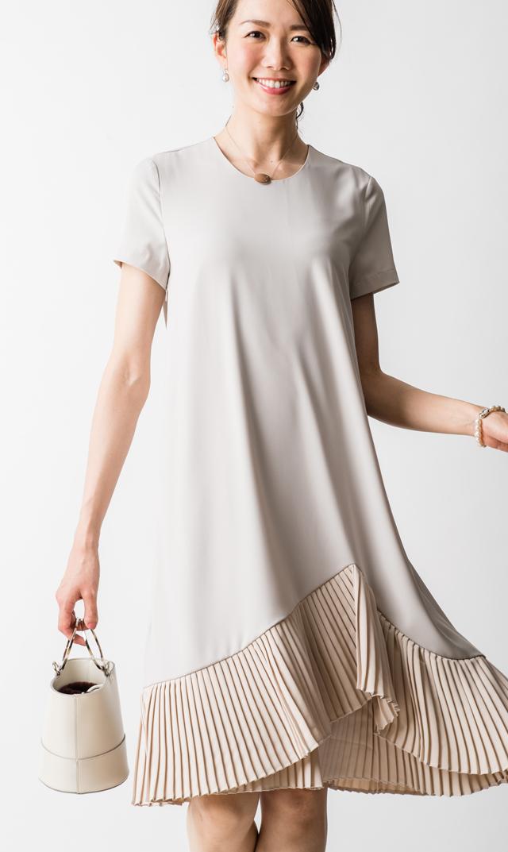 【ヴィリーナ】ミリーナーシングドレス(グレー)