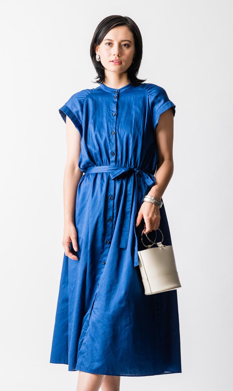 【ヴィリーナ(VIRINA)】アンジュナーシングドレス(ブルー)