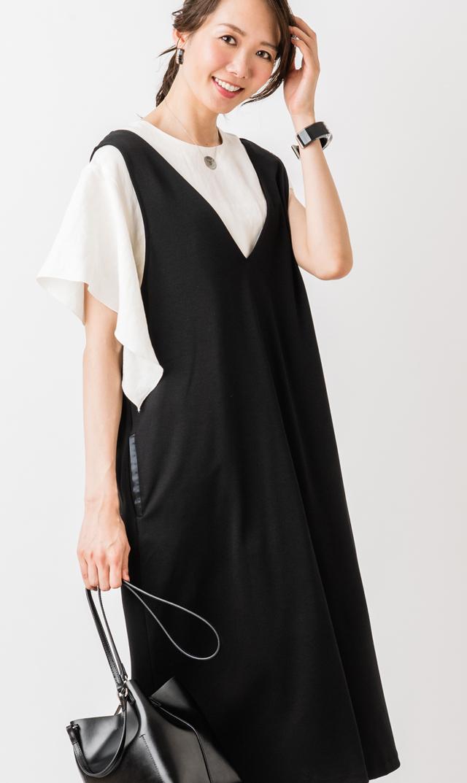 【ヴィリーナ】アイナナーシングジャンパースカート(ブラック)