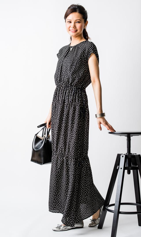 【ヴィリーナ(VIRINA)】ブリジットナーシングドレス(ブラック)