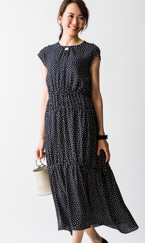 【ヴィリーナ(VIRINA)】ブリジットナーシングドレス(ネイビー)