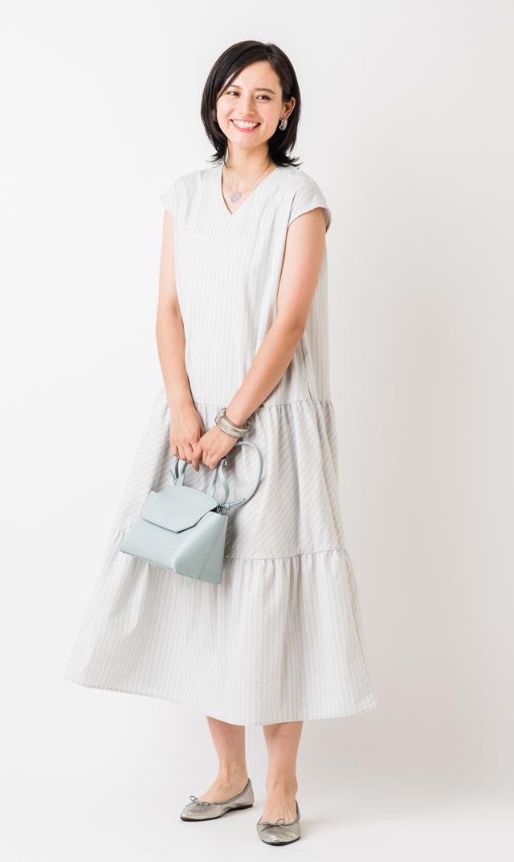 【ヴィリーナ】ニコルナーシングドレス(グレー)