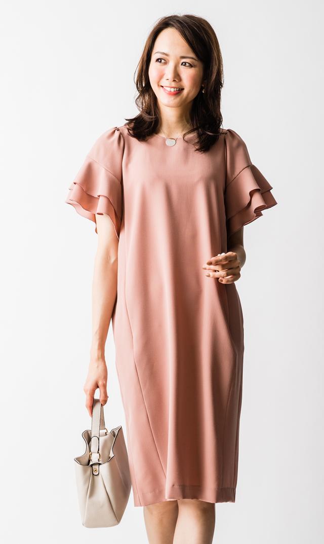 【ヴィリーナ(VIRINA)】エリーナーシングドレス(ピンク)