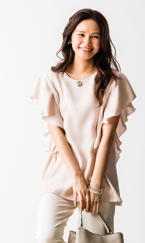 【ヴィリーナ(VIRINA)】マリーナーシングトップス(ピンク)