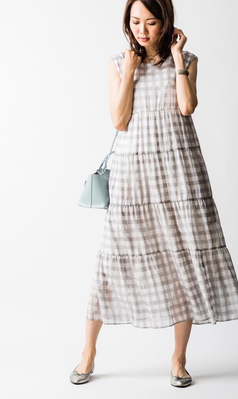 【ヴィリーナ(VIRINA)】メルナーシング2wayドレス(グレー)