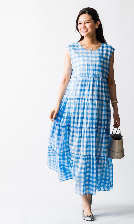 【ヴィリーナ(VIRINA)】メルナーシング2wayドレス(ブルー)