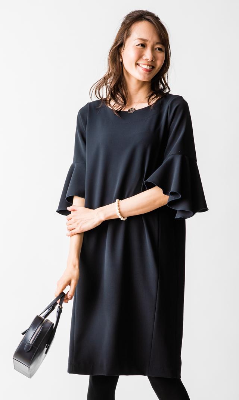 【ヴィリーナ(VIRINA)】メリンダナーシングドレス(ネイビー)