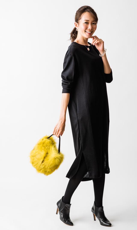 【ヴィリーナ(VIRINA)】ジンジャーナーシングドレス(ブラック)