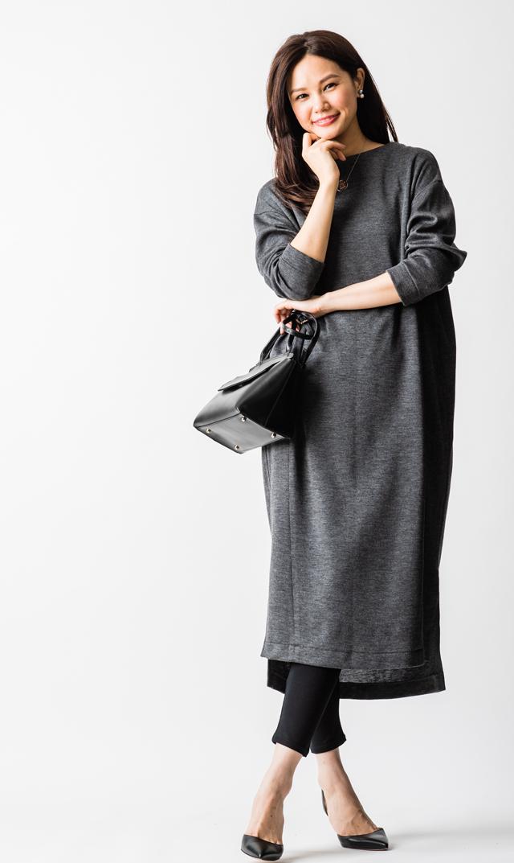 【ヴィリーナ(VIRINA)】ジンジャーナーシングドレス(チャコール)