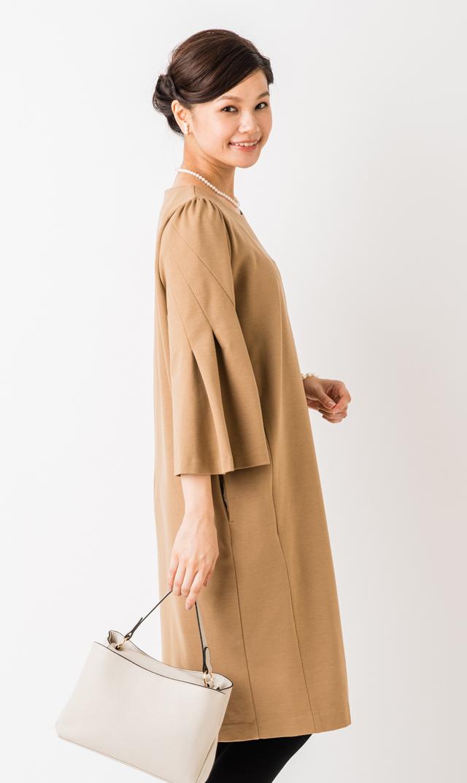 【ヴィリーナ(VIRINA)】レイラナーシングウォームドレス(キャメル)