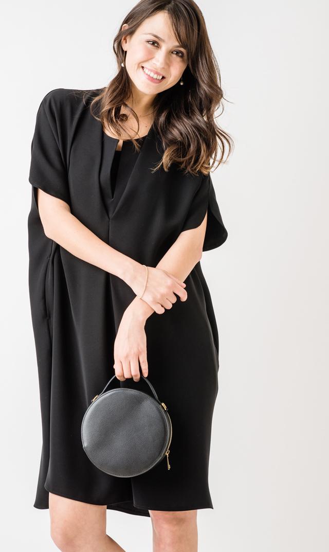 【ヴィリーナ(VIRINA)】ジルナーシングドレス(ブラック)