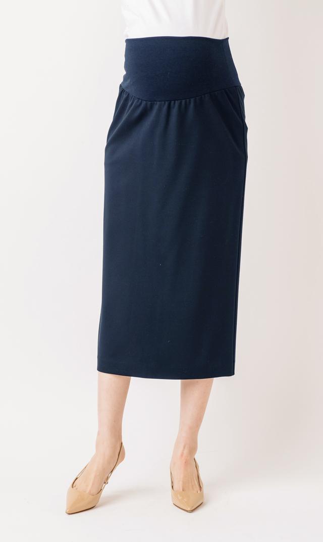 【ヴィリーナ(VIRINA)】ローレンポンチタイトスカート(ネイビー)