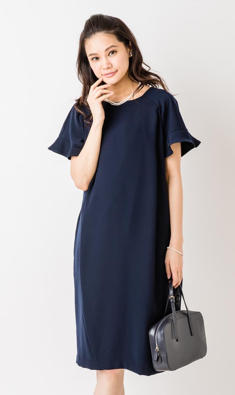 【ヴィリーナ(VIRINA)】エイミーナーシングドレス(ネイビー)